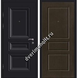 Входная металлофиленчатая дверь - 80-27