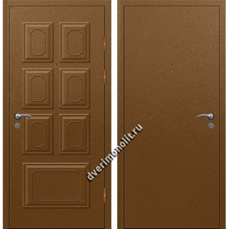 Входная металлофиленчатая дверь - 80-28