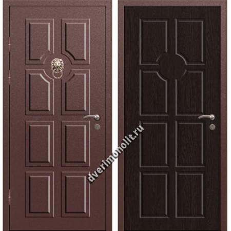 Входная металлофиленчатая дверь - 80-29