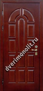 Входная металлическая дверь - 1-01