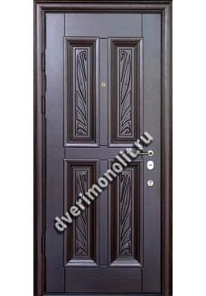 Входная металлическая дверь - 198-02