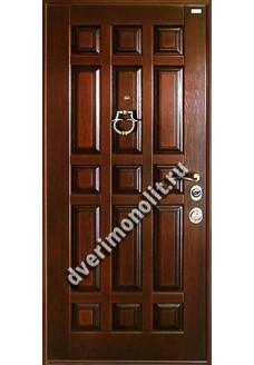 Входная металлическая дверь в коттедж или дом. Модель 199-02