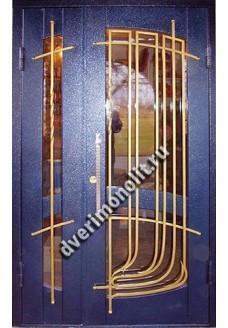 Входная металлическая дверь в старый фонд. Модель 427-03