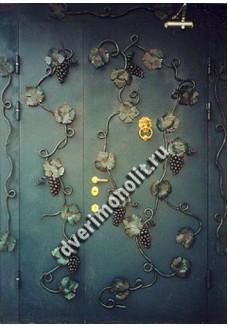 Входная металлическая дверь в старый фонд. Модель 431-03