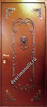 Входная металлическая дверь - 487-04