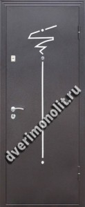 Входная металлическая дверь. Модель 497-04