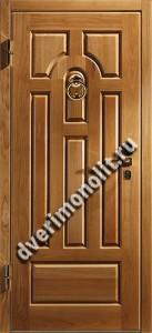 Утепленная входная металлическая дверь. Модель 50-01