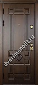 Утепленная входная металлическая дверь. Модель 50-03
