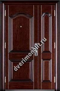 Утепленная входная металлическая дверь. Модель 50-04