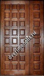 Утепленная входная металлическая дверь. Модель 50-06