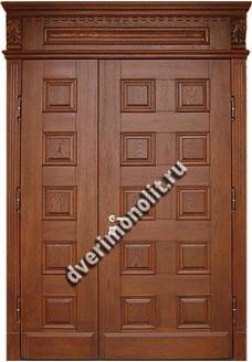 Утепленная входная металлическая дверь. Модель 50-07