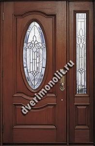 Утепленная входная металлическая дверь. Модель 50-09