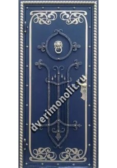 Входная металлическая дверь. Модель 500-04