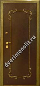 Входная металлическая дверь. Модель 508-04