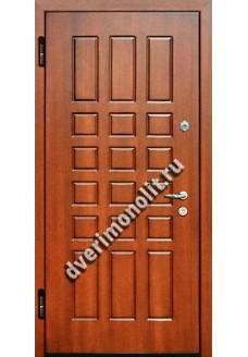 Входная металлическая дверь в квартиру. Модель 572-06