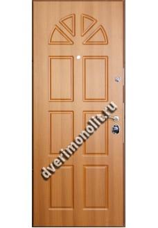 Входная металлическая дверь в загородный дом. Модель 579-06