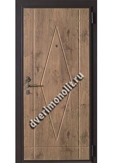 Входная металлическая дверь в загородный дом. Модель 582-06