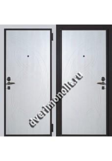 Входная металлическая дверь в коттедж. Модель 587-06