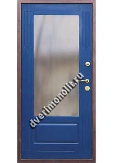 Входная металлическая дверь в загородный дом. Модель 616-08