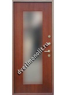 Входная металлическая дверь в загородный дом. Модель 620-08
