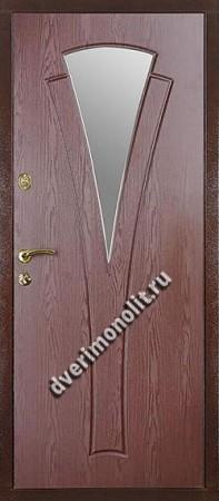 Входная металлическая дверь в коттедж. Модель 621-08