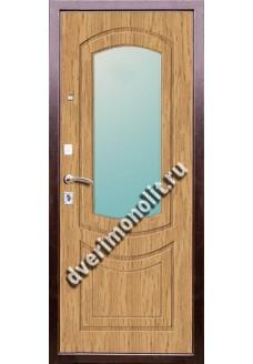 Входная металлическая дверь в коттедж. Модель 625-08