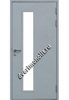 Входная тамбурная металлическая дверь. Модель 627-09