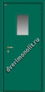 Входная тамбурная металлическая дверь. Модель 628-09