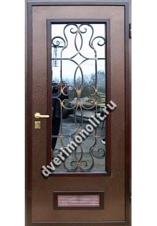 Входная металлическая дверь. Модель 636-10