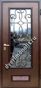 Входная металлическая дверь - 636-10