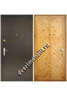 Входная металлическая дверь - Модель Д-3