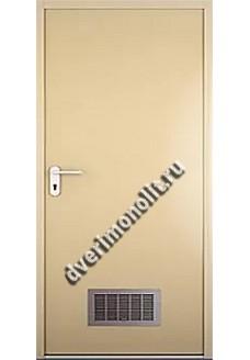 Противопожарная металлическая дверь. Модель ППД-2