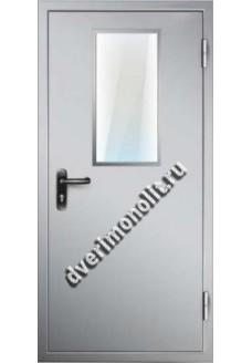 Противопожарная металлическая дверь. Модель ППД-4