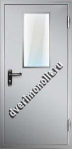 Противопожарная металлическая дверь. Модель 012-4