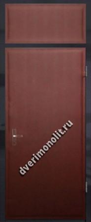 Нестандартная металлическая дверь. Модель 003-010