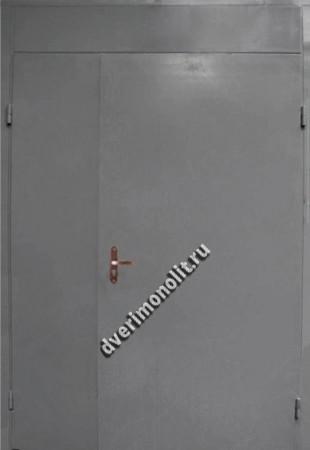 Нестандартная металлическая дверь. Модель 003-014