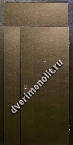 Нестандартная металлическая дверь. Модель 003-015