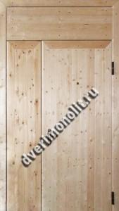 Нестандартная металлическая дверь. Модель 003-016