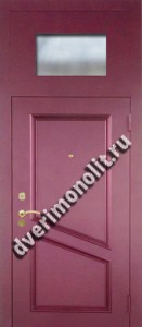 Нестандартная металлическая дверь. Модель 003-017
