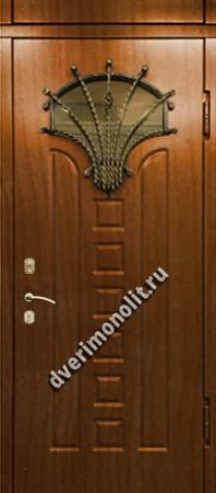 Нестандартная металлическая дверь. Модель 003-019