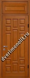 Нестандартная металлическая дверь. Модель 003-002