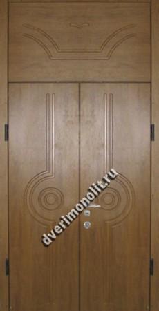 Нестандартная металлическая дверь. Модель 003-020