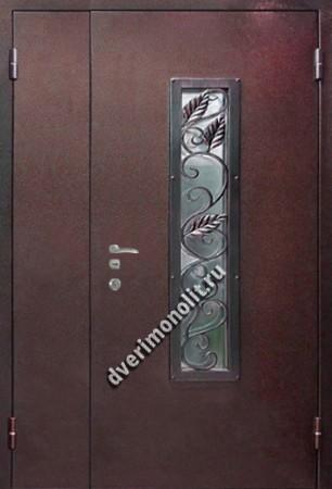 Нестандартная металлическая дверь. Модель 003-021