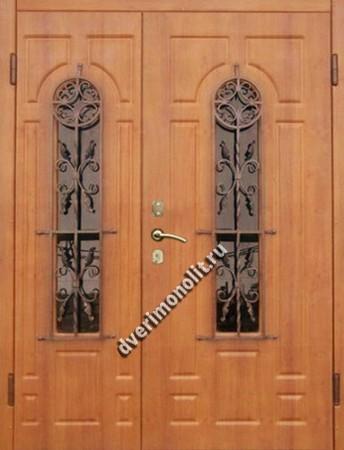 Нестандартная металлическая дверь. Модель 003-023