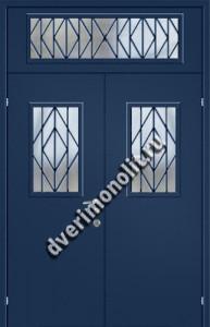 Нестандартная металлическая дверь. Модель 003-024