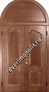 Нестандартная металлическая дверь. Модель 003-025