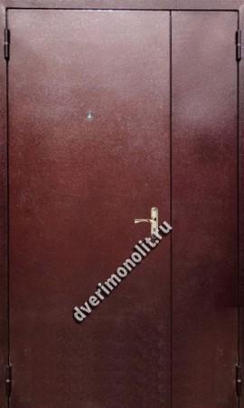 Нестандартная металлическая дверь. Модель 003-027