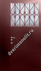 Нестандартная металлическая дверь. Модель 003-030