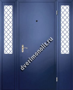 Нестандартная металлическая дверь. Модель 003-033