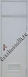 Нестандартная металлическая дверь. Модель 003-034
